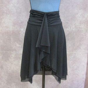 NEW Profile by Gottex Black Swim Coverup Skirt M